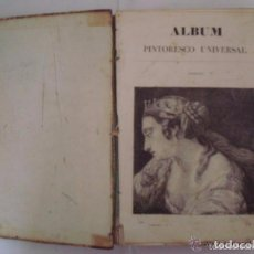Libros antiguos: ALBUM PINTORESCO UNIVERSAL. 1841. FOLIO. OBRA PROFUSAMENTE ILUSTRADA CON GRABADOS.. Lote 81677944