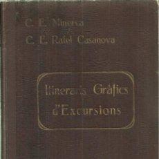 Livros antigos: 3778.-ITINERARIS GRAFICS D'EXCURSIONS - C.E.MINERVA Y C.E. RAFAEL CASANOVA-PROLEG DE BATISTA I ROCA . Lote 81921348