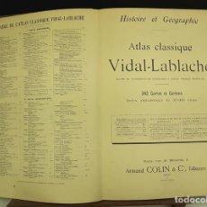 Libros antiguos: ATLAS CLASSIQUE. VIDAL-LABLACHE. EDIT. ARMAND COLIN Y CIA. 1897.. Lote 83270656