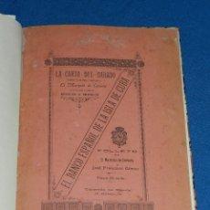 Libros antiguos: (MF) CUBA - EL BANCO ESPAÑOL DE LA ISLA DE CUBA , FOLLETO POR EL MARQUES DE CERVERA, HABANA 1895. Lote 84965276