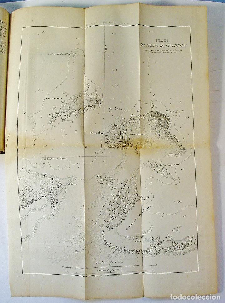 Libros antiguos: DERROTERO DE LA COSTA SEPTENTRIONAL DE ESPAÑA. PARTE PRIMERA. AÑO 1860. DE CORUÑA A GIJÓN. - Foto 3 - 86018052