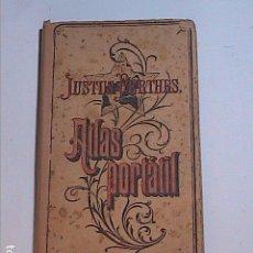 Libros antiguos: ATLAS PORTATIL JUSTUS PERTHES. 1920. 28 MAPAS COLORIDOS DE TODO EL MUNDO.. Lote 86665468