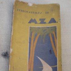 Libros antiguos: FERROCARRILES DE M.Z.A. - GUIA OFICIAL ILUSTRADA. 1930 -31. NUMERO 2.. Lote 87002016