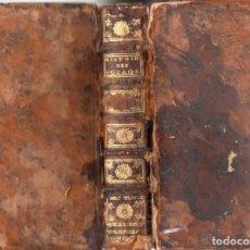 Libros antiguos: HISTOIRE GENERALE DES VOYAGES TOME 33 (DIDOT, PARIS, 1751) CON MAPAS Y GRABADOS. Lote 88783168