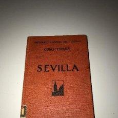 Libros antiguos: SEVILLA, GUIA 1930, BASTANTE FOTOS Y EXPLICACION DETALLADA. Lote 88968516