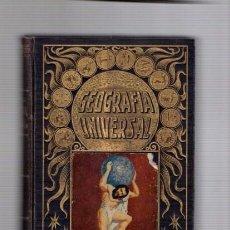 Libros antiguos: GEOGRAFIA UNIVERSAL - ED. RAMON SOPENA 1931 / ILUSTRADO. Lote 90041452