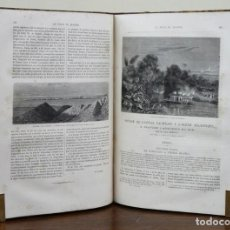 Libros antiguos: CHARTON. LE TOUR DU MONDE [VIAJES]. NOUVEAU JOURNAL DES VOYAGES. 1865. PREMIER SEMESTRE. TOMO XI. Lote 90501395