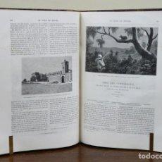 Libros antiguos: CHARTON. LE TOUR DU MONDE [VIAJES]. NOUVEAU JOURNAL DES VOYAGES. 1888. DEUXIÈME SEMESTRE. TOMO LV. Lote 90501705