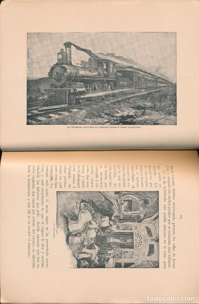 Libros antiguos: PENNSYLVANIA RAILROAD TO THE COLUMBIAN EXPOSITION, 1892 - EDICIÓN EN CASTELLANO -FERROCARRILES - Foto 3 - 90521660