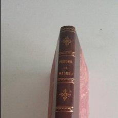 Libros antiguos: HISTORIA DE MASNOU - 1925. Lote 91017040