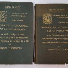 Libros antiguos: 1922 - ISPIZÚA- HISTORIA DE LA GEOGRAFIA Y DE LA COSMOGRAFÍA CON RELACIÓN A LOS DESCUBRIMIENTOS. Lote 93034265