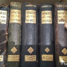 Libros antiguos: GEOGRAFIA GENERAL DEL PAIS VASCO NAVARRO. Lote 93268995