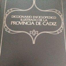 Libros antiguos: DICCIONARIO ENCICLOPEDICO ILUSTRADO DE LA PROVINCIA DE CADIZ.. Lote 93366420