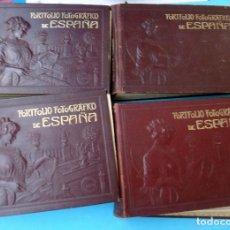 Libros antiguos: PORTFOLIO FOTOGRAFICO DE ESPAÑA, 4 TOMOS O LIBRO , 48 PROVINCIAS FOTOS MAPAS ....., ORIGINALES. Lote 93596295