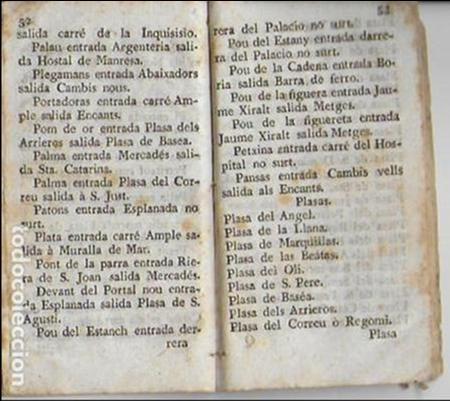 Libros antiguos: Diversion de ciudadanos...[ guia de Barcelona ] BCN : Teresa Nadal, 1789. 13,5x7,5cm. 74 p. - Foto 7 - 26894756