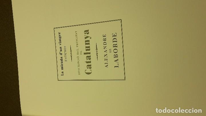 Libros antiguos: DESCRIPCIO DEL PRINCIPAT DE CATALUNYA. ALEXANDRE DE LABORDE - Foto 13 - 94080470
