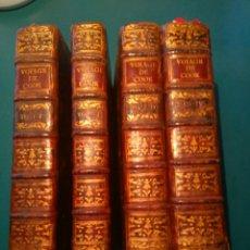 Libros antiguos: COOK. TROISIÈME VOYAGE DE COOK, OU VOYAGE À L'OCÉAN PACIFIQUE (1776-80). PARIS 1785. 4 TOMOS. Lote 94170875