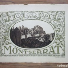 Libros antiguos: ÀLBUM VISTES DE MONTSERRAT. FOTOGRAF. JUNQUÉ. O.S.B. C. 1920.. Lote 94242970