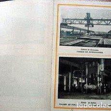 Libros antiguos: ALTOS HORNOS DE VIZCAYA. BILBAO. PRONTUARIO PARA EL EMPLEO DE VIGUETAS. 1929. Lote 183088655