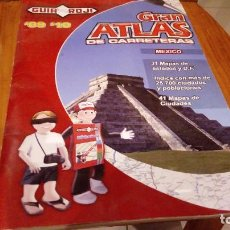 Libros antiguos: GRAN ATLAS DE CARRETERAS DE MEXICO EDICION 2009. Lote 94507066