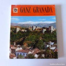 Libros antiguos: LIBRO DEL 1974: GANZ GRANADA. ESTADO MUY BUENO. 150 FOTOS EN COLOR.. Lote 94592663