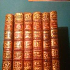 Libros antiguos: COOK. VOYAGE DANS L'HÉMISPHÈRE AUSTRAL ET AUTOUR DU MONDE (1772-75). PARIS 1778. 6 TOMOS. Lote 94138715