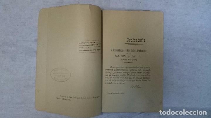 Libros antiguos: Historia de la M. N. y M. L. Ciudad de Vera (Almeria) desde su fundación a nuestros días (1908) - Foto 6 - 97676722