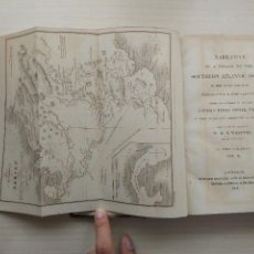 Libros antiguos: NARRATIVE OF A VOYAGE TO THE SOUTHERN ATLANTIC OCEAN. (VOL II) (1834). Lote 95448979