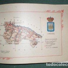 Libros antiguos: PORTFOLIO FOTOGRAFICO DE ESPAÑA: PROVINCIA DE LOGROÑO Y PROVINCIA DE GUADALAJARA. Lote 95537007