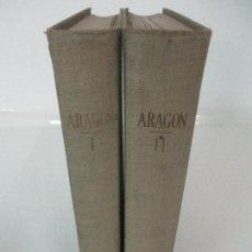 Libros antiguos: ARAGÓN - CUATRO ENSAYOS - BANCO DE ARAGÓN - 2 TOMOS - COMPLETO - AÑO 1960. Lote 95998335