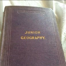 Libros antiguos: JUNIOR GEOGRAPHY ON THE PRINCIPLES OF COMPARISON AND CONTRAST WITH NUMEROUS EXERCISES, 1879. Lote 96016955