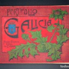 Libros antiguos: PORTFOLIO DE GALICIA. VIUDA DE FERRER Y PEDRO FERRER EDITOR LA CORUÑA, 1904 COMPLETO Y CON PORTADAS. Lote 96111247