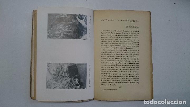 Libros antiguos: Juan Díaz Caneja: Paisajes de recoquista (1926) - Foto 8 - 96118527