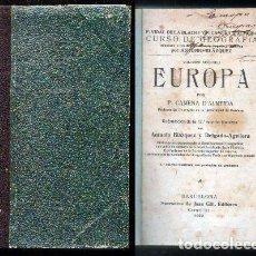 Libri antichi: EUROPA. VOLUMEN SEGUNDO. - CAMENA D'ALMEIDA.- A-ESC-1607.. Lote 96176027