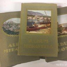 Libros antiguos: ALBUM MERAVELLA DE CATALUNYA. VOL I, II, IV, V Y VI.. Lote 96188159