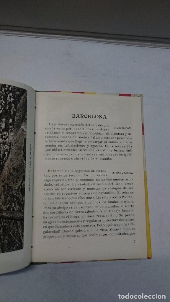 Libros antiguos: Barcelona: Guia de la ciudad y de la Exposición + 3 planos - Foto 5 - 96403839