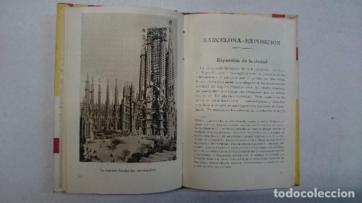 Libros antiguos: Barcelona: Guia de la ciudad y de la Exposición + 3 planos - Foto 6 - 96403839
