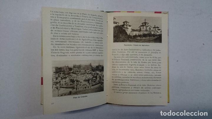 Libros antiguos: Barcelona: Guia de la ciudad y de la Exposición + 3 planos - Foto 7 - 96403839