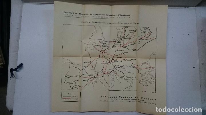 Libros antiguos: Barcelona: Guia de la ciudad y de la Exposición + 3 planos - Foto 8 - 96403839
