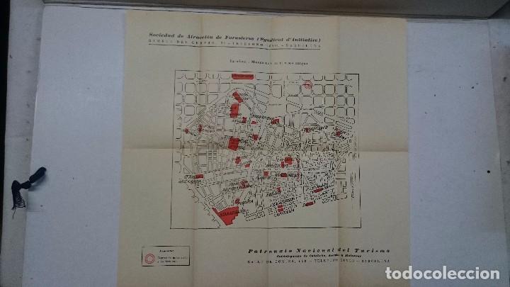 Libros antiguos: Barcelona: Guia de la ciudad y de la Exposición + 3 planos - Foto 10 - 96403839