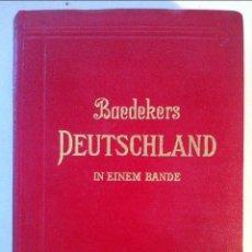 Libros antiguos: KARL BAEDEKER. DEUTSCHLAND. 1932. Lote 96996755