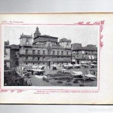 Libros antiguos: LEON. MAGNIFICAS FOTOGRAFIAS ANTIGUAS. MAPA PROVINCIAL. CUADERNO PORTFOLIO FOTOGRAFICO. Lote 97414159