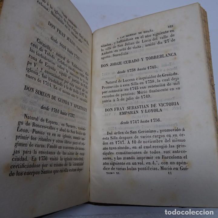 Libros antiguos: VILLANUEVA: VIAGE LITERARIO A LAS IGLESIAS DE ESPAÑA. URGEL, GERONA Y RODA.TOMOS XI A XV - Foto 4 - 97947035