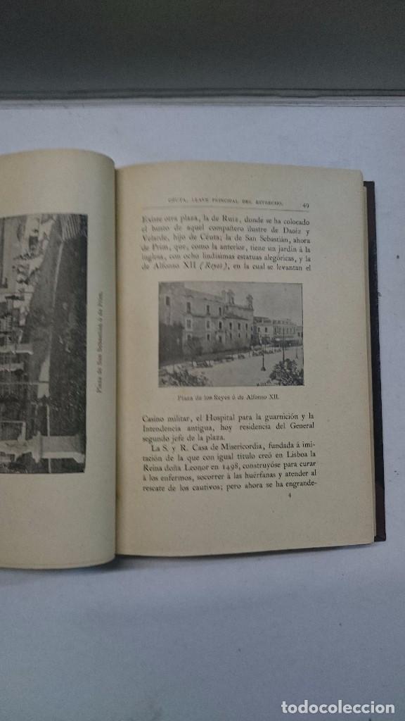 Libros antiguos: Manuel Tello Amondareyn: Ceuta. Llave Principal del estrecho (1897) - Foto 5 - 98847191