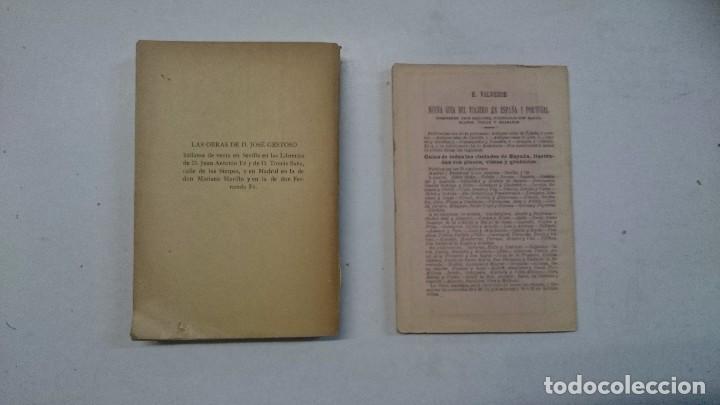 Libros antiguos: Sevilla: Guía artística de Sevilla (1918) - Plano y Guía del Viajero (Valverde) - 2 libros - Foto 2 - 99054331