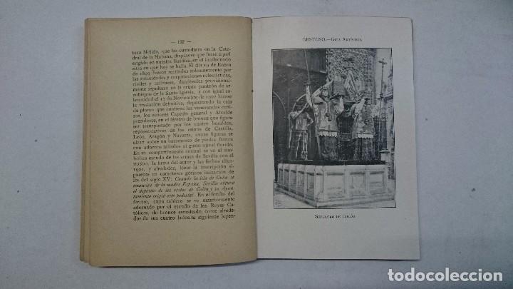 Libros antiguos: Sevilla: Guía artística de Sevilla (1918) - Plano y Guía del Viajero (Valverde) - 2 libros - Foto 7 - 99054331
