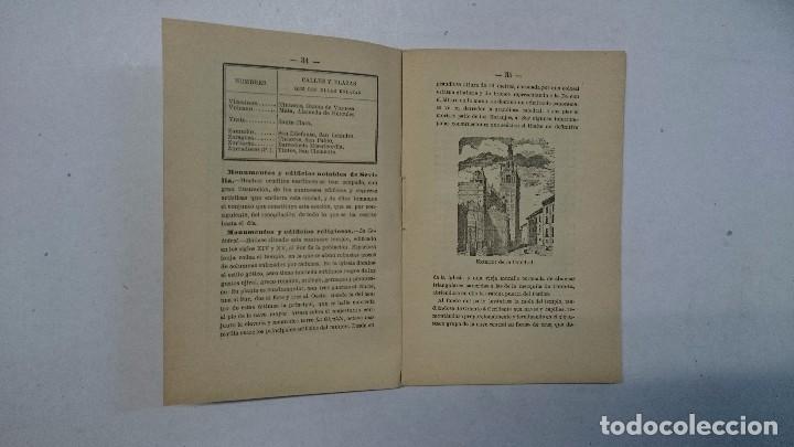 Libros antiguos: Sevilla: Guía artística de Sevilla (1918) - Plano y Guía del Viajero (Valverde) - 2 libros - Foto 10 - 99054331