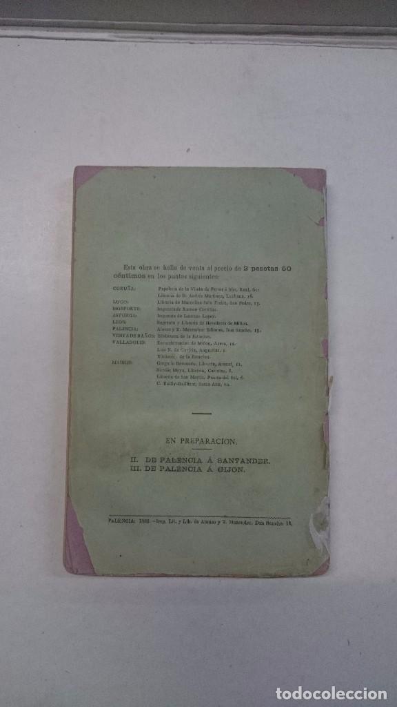 Libros antiguos: Ricardo Becerro de Bengoa: De Palencia a La Coruña (1883) - Foto 3 - 99344615