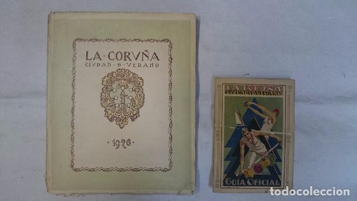 LA CORUÑA: CIUDAD DE VERANO 1926 Y 1928 (2 LIBROS) (Libros Antiguos, Raros y Curiosos - Geografía y Viajes)
