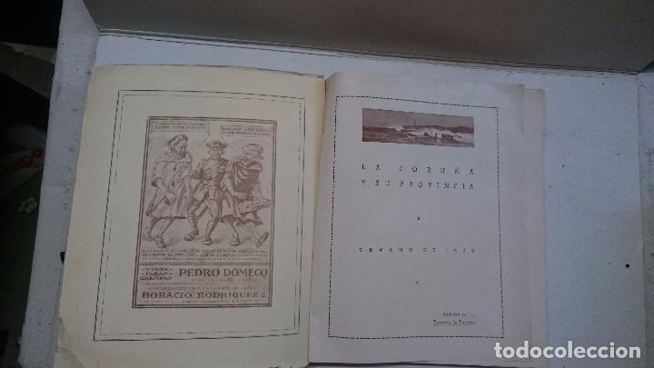 Libros antiguos: La Coruña: Ciudad de verano 1926 y 1928 (2 libros) - Foto 4 - 99520823